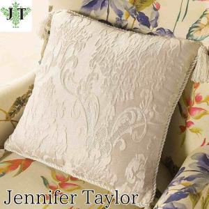 ジェニファーテイラー クッション タッセル 中材付き 高級 おしゃれ かわいい エステ ネイル Leone-WH  Jennifer Taylor 33015CU|jennifertaylor