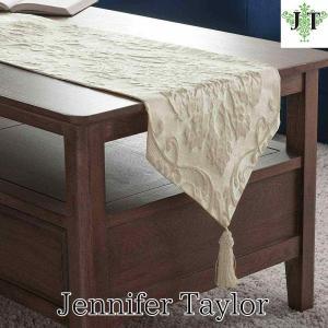 ジェニファーテイラー テーブルランナー 180 テーブル サイドボード 玄関 おしゃれ かわいい エステ ネイル Leone-WH Jennifer Taylor 33016TR|jennifertaylor