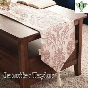 ジェニファーテイラー テーブルランナー 180 テーブル サイドボード 玄関 おしゃれ かわいい エステ ネイル Leone-PK  Jennifer Taylor 33025TR|jennifertaylor