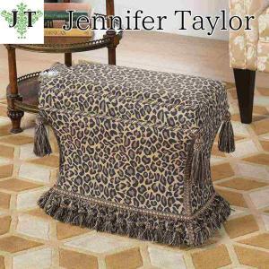 ジェニファーテイラー 薄型 スツール 椅子 イス 玄関 廊下 布 布張り 高級 おしゃれ かわいい Espresso Jennifer Taylor 33030ST-655|jennifertaylor