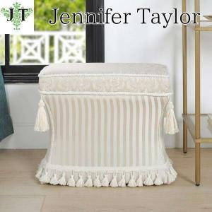 ジェニファーテイラー 薄型 スツール 椅子 イス 玄関 廊下 布 布張り 高級 おしゃれ かわいい Haruno-GR Jennifer Taylor 33030ST-ZMA9|jennifertaylor