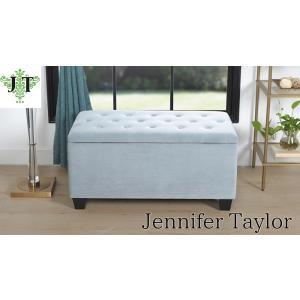 ジェニファーテイラー 収納 ベンチ 椅子布 布張り 高級 おしゃれ Velours-LB ベロア スリッパラック Jennifer Taylor 33033BH-H12|jennifertaylor