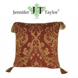 ジェニファーテイラー クッション タッセル 中材付き 高級 おしゃれ かわいい エステ ネイル Bacara  Jennifer Taylor 33080CU|jennifertaylor