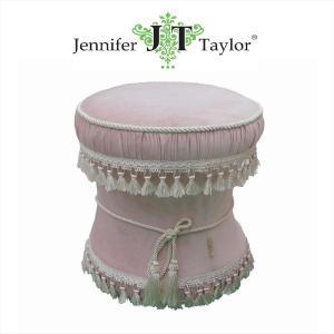 ジェニファーテイラー スツール 椅子 イス 布 布張り 高級 おしゃれ かわいい Velours-NPK  Jennifer Taylor 33086ST jennifertaylor