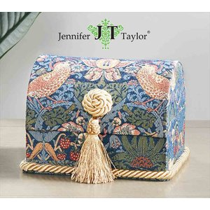ジェニファーテイラー トランク BOX ボックス 小物入れ 収納 高級 おしゃれ モリス いちご泥棒 Strawberry Thief Jennifer Taylor 33098BX|jennifertaylor