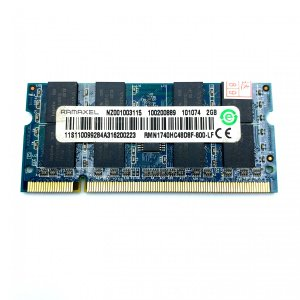 ノート PC用 増設 メモリ PC2-6400/DDR2-800 2GB 200pin SO-DIM...