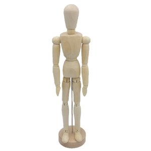 商品詳細  ・サイズ:約30cm(人形のみの高さ)、約32cm(土台を含んだ高さ) ・素材:木 ・可...