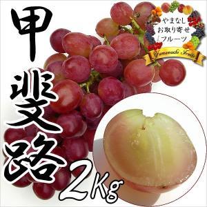 敬老の日 ギフト ぶどう 山梨産 甲斐路 2kg 葡萄 ブドウ|jerichojericho