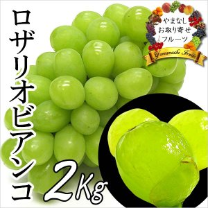 敬老の日 ギフト ぶどう 山梨産 ロザリオビアンコ 2kg 葡萄 ブドウ|jerichojericho