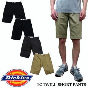 ディッキーズ DICKIES TCツイル ショートパンツ 182M40WD17 DK004341|jerrys