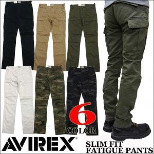 AVIREX アビレックス スリム カーゴパンツ 6166122|jerrys