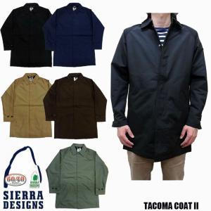 シェラデザイン SIERRA DESIGNS TACOMA COAT II ステンカラーコート 8101|jerrys