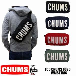 CHUMS ECO CHUMS LOGO WAIST BAG チャムス ボディーバッグ CH60-2558