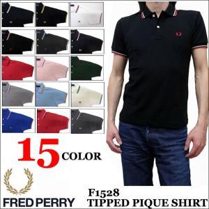 フレッドペリー FRED PERRY 半袖ポロシャツ TIP LINE POLO SHIRTS F1528|jerrys