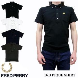 フレッドペリー FRED PERRY 半袖 ボタンダウン ポロシャツ F1542