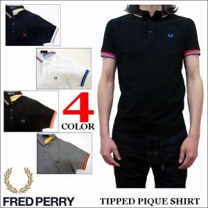 フレッドペリー FRED PERRY 半袖ポロシャツ TIP LINE POLO SHIRTS F1575|jerrys