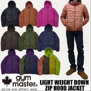 gym master ジムマスター  ライトウェイト ダウンジャケット g721501|jerrys