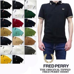 2019新作、FRED PERRY 英国製ティップラインポロシャツです。 襟と袖にティップライン(2...