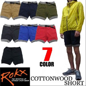 ROKX ロックス ショートパンツ COTTONWOOD SHORT|jerrys