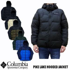 コロンビア COLUMBIA 中綿ナイロンジャケット PIKE LAKE HOODED JACKET  WE0020|jerrys