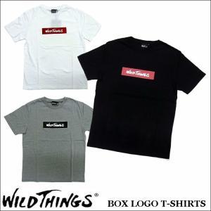 ワイルドシングス WILDTHINGS  ボックスロゴ Tシャツ jerrys