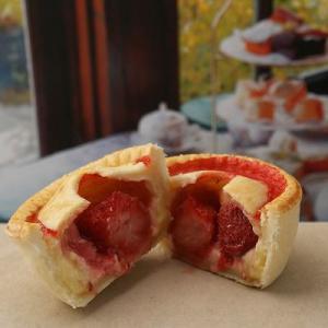 ストロベリーカスタード Strawberry&Custard 手づくりスイートパイ|jerryspies