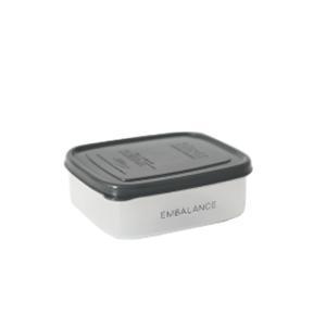 エンバランス 保存容器 長角型 370ml 密閉容器 発酵 鮮度保持|jes-mineral-honpo