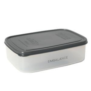 エンバランス 保存容器 長角型 1270ml 密閉容器 発酵 鮮度保持|jes-mineral-honpo
