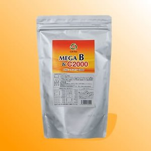 MEGA B & C2000(メガビーアンドシー2000)180g(3g×60袋)|jes-mineral-honpo