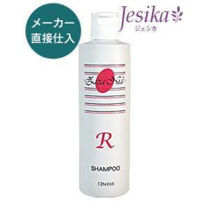 ジザニア シャンプーR 300ml ノンシリコン 天然成分無添加  太い髪、くせ毛、硬い髪用  美容室専売品の画像