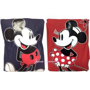 ミッキーマウス ミニーマウス ポンチョ型レインコート カッパ...