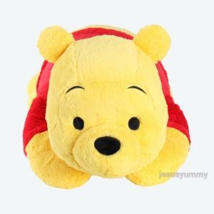 【東京ディズニーリゾート限定】 くまのプーさん Pooh ぬいぐるみ 抱き枕 枕 まくら 特大 Lサ...