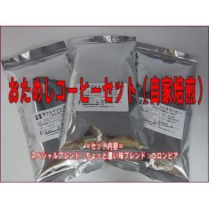 おためしコーヒーセット(自家焙煎)100g×3...