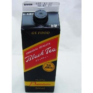 GS ブラックティープレミアム(加糖)500ml