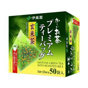 伊藤園/プレミアムティーバッグ抹茶入り玄米茶50袋