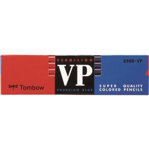 トンボ/色鉛筆 朱藍/8900-VP|jetprice