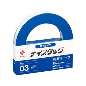 ニチバン/紙製両面テープ ナイスタック 強粘着15mm×18m/NW-K15