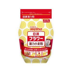 日清製粉/フラワー薄力小麦粉 密封チャック付 1kg|jetprice