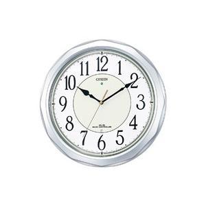 リズム時計/シチズン ネムリーナサニー電波時計 シルバー/4MY642-019|jetprice