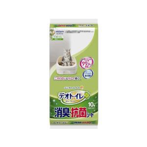 ユニ・チャーム/1週間消臭・抗菌デオトイレ取替 消臭・抗菌シート 10枚|jetprice