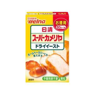日清フーズ/スーパーカメリヤドライイーストお徳用 50g|jetprice