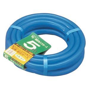 アイリス/耐圧糸入りホース5m ブルー|jetprice