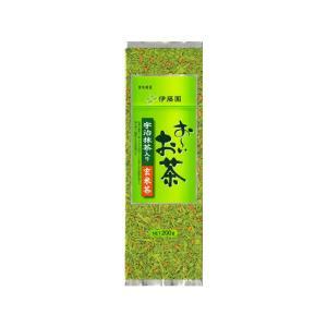 伊藤園/宇治抹茶入り玄米茶 200g