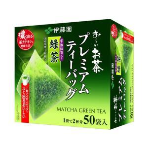 伊藤園/お〜いお茶プレミアムティーバッグ抹茶入り緑茶50バッグ|jetprice