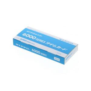 ニッポー/タイムカード 100枚入/6000シリーズカード