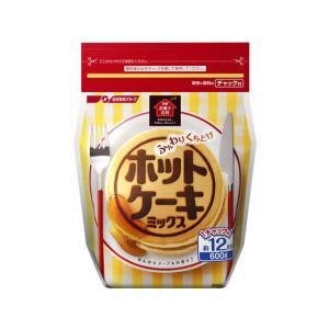 日清フーズ/お菓子百科 わくわくふんわりホットケーキミックス600g|jetprice