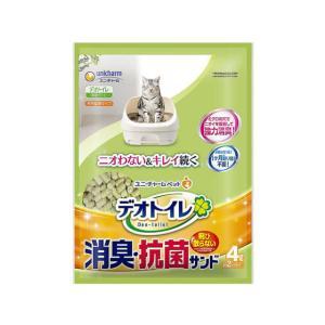 ユニチャーム/抗菌デオトイレ 飛び散らない消臭・抗菌サンド 4L