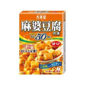 【商品説明】●丸美屋が発売以来こだわり続けた豆板醤とオリジナルのみそのブレンドが豆腐によく合い、こど...