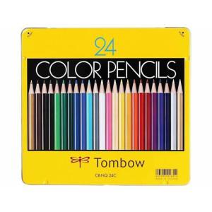 トンボ/色鉛筆 24色セット/CB-NQ24C|jetprice