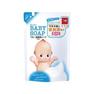 牛乳石鹸/キューピー全身ソープ泡タイプ 詰替用 350ml|jetprice
